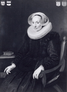 Portret van Margaretha van der Eijk (ca. 1575-1624)