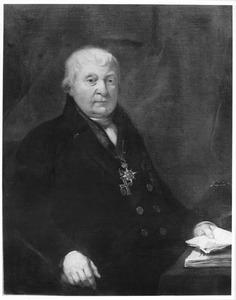 Portret van Joan Arent de Vos van Steenwijk (1746-1813)