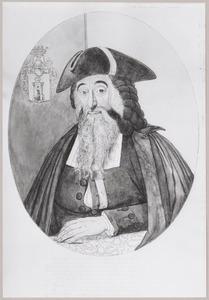 Portret van David Cohen d' Azevedo (?-1792)