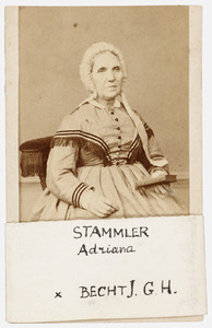 Portret van Adriana Stammler