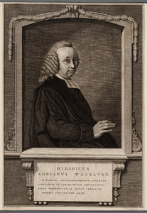 Portret van Didericus Adrianus Walraven (1732-1804)