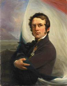 Portret van Jacob Hobein (1810-1888)
