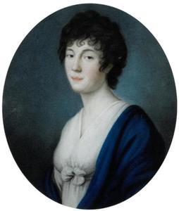 Portret van Julie Freiin von der Goltz (1780-1841)