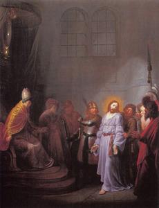 Christus voor hogepriester Annas
