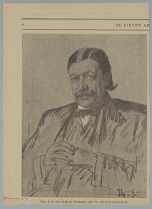 Portret van Prof. P. K. Pel