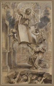Tekening naar O. Boonaerts, In Ecclesiasticum Commentarius