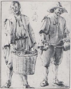 Twee vissers en andere figuren