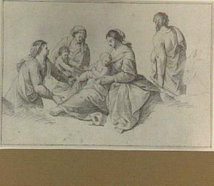 H. Familie met Elizabeth en het kind Johannes de Doper