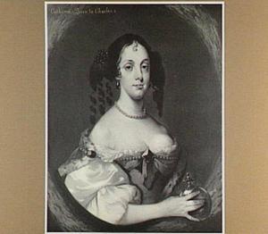 Portret van Catarina Henriqueta de Bragança (1638-1707), echtgenote van Karel II Stuart, koning van Engeland
