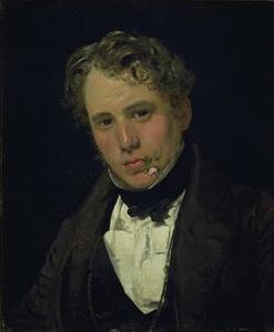 Portret van de schilder Wilhelm Marstrand (1810-1873)