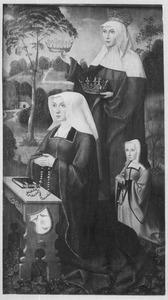 De H. Elisabeth met stichtster