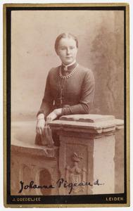Portret van Johanna Pigeaud (1864-1938)