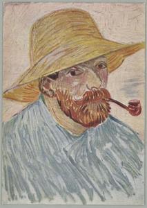 Portret van Vincent Willem van Gogh (1853-1890)