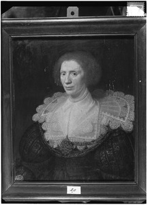 Portret van Magdalena van Valckensteyn (....-1634)