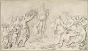 Offerande aan Flora (allegorie van de Lente)