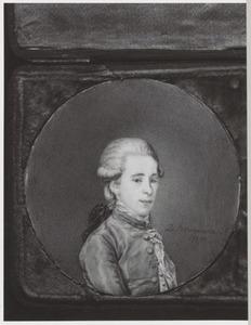 Portret van Willem Philip Barnaart (1755-1781)