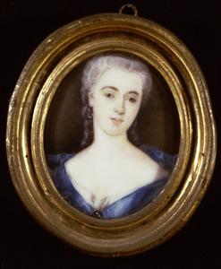 Portret van Sara Johanna van Campen (1710-1765)