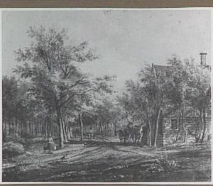 Den Haag, gezicht in het Haagse Bos