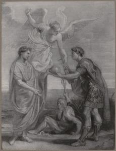 Keizer Constantius benoemt  Constantijn tot zijn opvolger