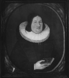 Portret van dominee Jens Ottesen Schreuder (1665-1713)
