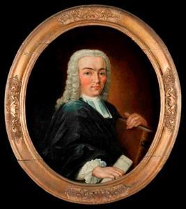 Portret van Hans Willem van Plettenberg (1721-1780)