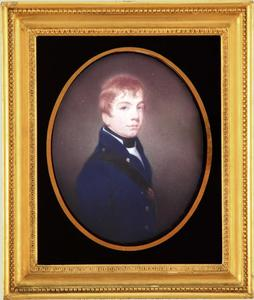 Portret van Jacob Frederik Matthes (1785-1816)