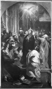 Pinksteren: het uitstorten van de Heilige Geest