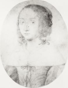 Zelfportret van Anna Maria van Schurman (1607-1678)