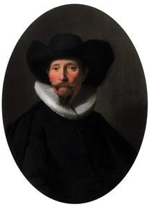 Portret van een man, mogelijk Jan Pietersz. van den Eeckhout (1584-1652)