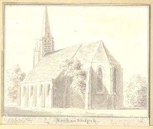 De kerk in Enspijk