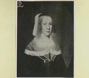 Portret van een vrouw, mogelijk Sara van Moerkerken (1628-?)