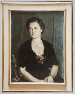 Portret van Henriette Sophia Francisca Teding van Berkhout (1911-2003 )
