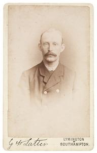 Portret van een man, mogelijk uit familie Harke