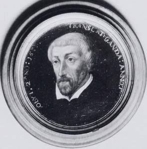 Portret van Willem Damasz.van de Lindt (Lindanus) (1525-1588)