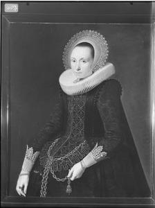 Portret van Hillegonda van Baersdorp (1594-1661)