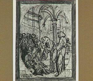 De heilige Franciscus van Paula wekt een kind op uit de dood