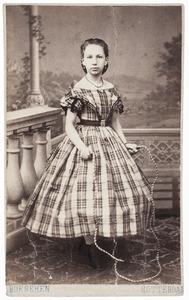 Portret van Margaretha Johanna van Oordt (1853-1899)
