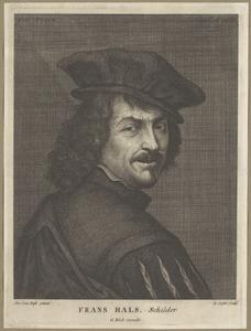Portret van een man, genaamd Frans Hals (1582-1666)