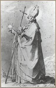 H. Swithbert, een van de twaalf bisschoppen van Utrecht