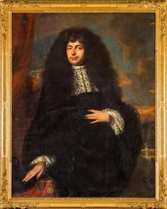 Portret van een man, mogelijk David Constantijn du Tour (1657-1727)