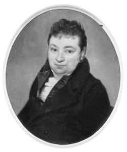 Portret van Coenraad Carel Vincent van Boetzelaer (1776-1845)