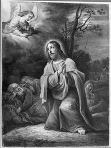 De vijftien mysteriën van de rozenkrans: Christus in de tuin der olijven te Getsemane