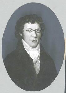 Portret van Jacob van den Biesen (1797-1845)