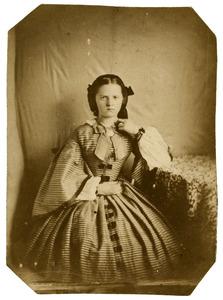 Portret van Caroline Henriette Everts (1843-1911)