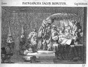 De dood van de aartsvader Jacob