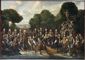 Allegorie op de bloei van de Nederlandse visserij na de Tweede Engelse Zeeoorlog (1665-1667)