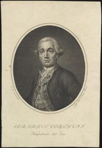 Portret van Gerardus Oorthuys (1741-1812)
