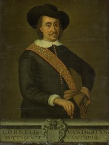 Portret van Cornelis van der Lijn (1608-1679)