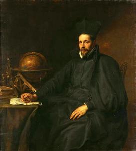 Portret van pater Jean Charles della Faille SJ (1597-1652)