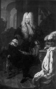Portret van Karl III Philipp keurvorst van de Palts (1661-1742)